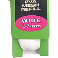 25mm/37mm PVA carpa pesca malla calcetín de recambio para bolsas para cebo Boilie Rig carpa pesca accesorios herramientas,, incluye malla tijeras