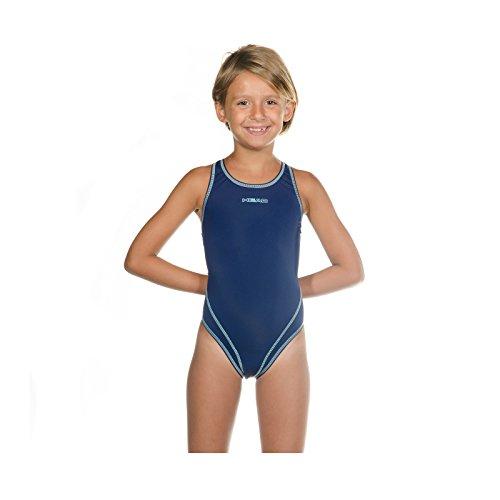 Head SWS Wire PBT Mädchen Badeanzug , Blau (Azul marino (NV), 152 (Herstellergröße: 12)
