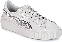 puma Basket Bling bianca