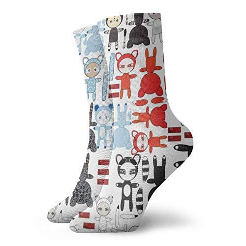 socken frauen 39,Panimals Verschiedene Rag Dolls_4700,100% Baumwolle Rutschfeste für Männer,Frauen,15.7 Zoll,eine Größe.