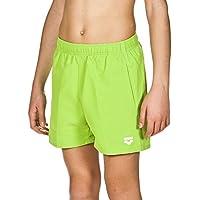 Arena Fundamentals Jr Costume da bagno boxer, bambino, Bambino, Fundamentals Jr, Verde (Leaf/White)