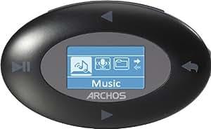 Archos 10b Vison MP3-Player 4 GB, 2,54 cm (1 Zoll) OLED Schwarz/Weiß Display (USB 2.0 High Speed, Clip)