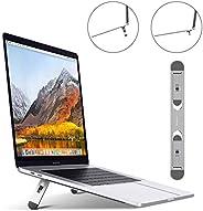 حامل لاب توب GOHIGH ، حامل كمبيوتر محمول خفيف الوزن غير مرئي، حامل ألومنيوم مريح محمول متوافق مع أجهزة MacBook