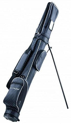 Unbekannt Standbag Luxus schwarz/weiß mit Magnetpin I LOVE GOLF