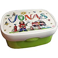 Brotdose mit Namen, Feuerwehr, personalisierte Lunchbox, Rosirosinchen, Rosti Mepal