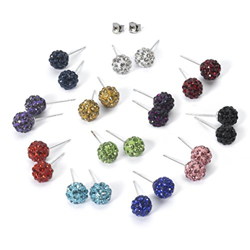 exciting-12-color-set-shamballa-rhinestones-crystal-fireball-stud-earrings-stainless-steel