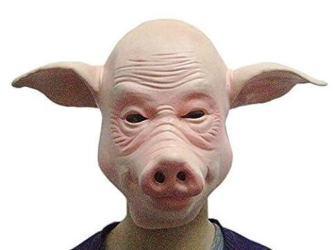 Masques Drôles De Halloween Adultes - GAOMEIFête de l'Halloween effectuant des masques d'animaux