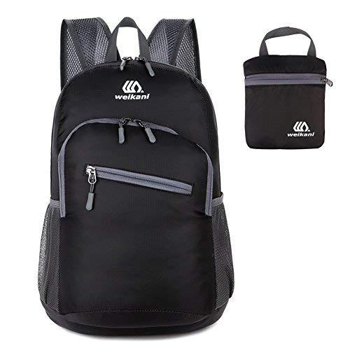41b9HW0AXhL. SS500  - 18L Ultralight Packable Backpack Foldable Daypack Lightweight Men Women Rucksack Waterproof for Outdoor Sport Hiking…