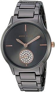 Anne Klein Women's Swarovski Crystal Accented Bracelet W