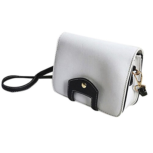 Schulter Tasche Btruely Damen Bote Tasche Kupplung Taschen Handtaschen Crossbody Taschen (Weiß) (Cross-body-kupplung)