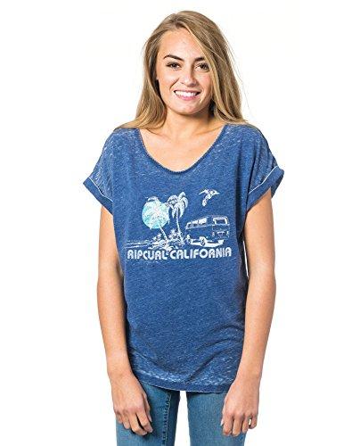 Rip Curl Encanto Tee, Maglietta Donna Profondità blu