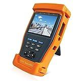 SODIAL Video Kamera Tester Ntsc/Pal Display, Ptz Daten Test, Utp Kabel Tester 3,5 Zoll Tft-LCD Digital Multimeter CCTV Tester Pro (Eu Stecker)