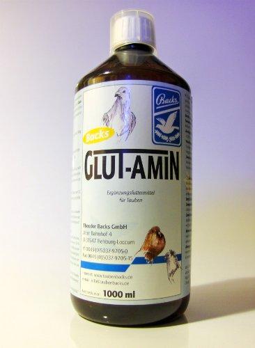 Artikelbild: Backs GLUT-AMIN Aminosäurenlösung, 1 l