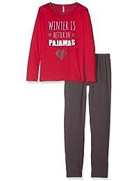 Lina Pink Ef.Wool.Py.Mz, Ensemble de Pyjama Fille