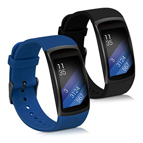 Kwmobile 2X Pulsera Samsung Gear Fit2 / Gear Fit 2