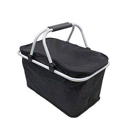Outdoor camping escursionismo borse da picnic portatile pieghevole grande borsa da picnic borsa di stoccaggio alimentare borse lunch box , 2