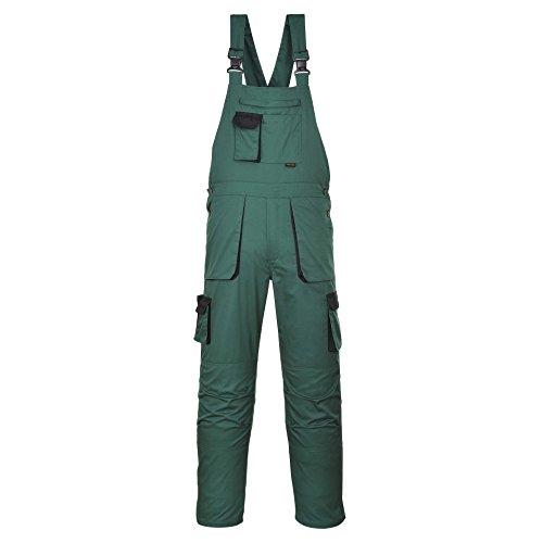 Texo Arbeitslatzhose, Kniepolstertaschen, elastischer Rücken, Größe S-XXXXL - xxxl - Bottle Green - 3 XL EU / 3 XL UK