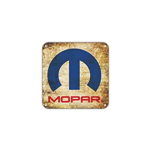 HSSS Mopar Parts Service Kundenbetreuung FIAT Chrysler Vintage Retro Metall Auto Motorräder Autos Wand Dekoration Kunst Aluminium 30,5 x 30,5 cm Schild