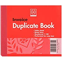 Silvine Invoice Duplicate Memo Book 616 100 Pages 50 Sheets