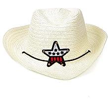 QEERT Sombrero Sombrero de Verano para niños Niños 2019 Niños Sombreros de  Paja Chica de Vaquero 508cc4e0b18