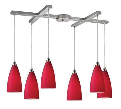 elk-2583-6-vesta-6-light-pendant-in-cardinal-red-in-satin-nickel-by-elk