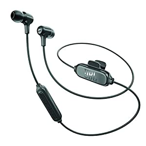JBL E25BT Wireless Earphone Bluetooth Multi Point Support/Bluetooth · Remote Control · with Microphone/Callable Black JBLE25BTBLK