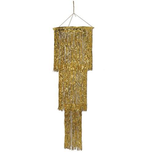 (Beistle 57510-GD Supplies Party-Zubehör, Gold, One Size)