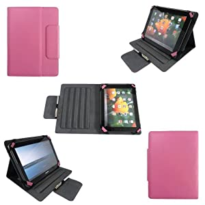 Cette housse a été spécialement étudiée pour être compatible avec les tablettes tactiles 7 pouces (7 inch) du moment comme : Asus Google Nexus 7, Apple iPad mini - Samsung Galaxy Tab 2 P3100 P3110 P6200 P1000 - Fnac Kobo Arc, Fineslate T01E, BlackBer...