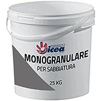 25 kg monogranulare para sabbiatura 0,7 – 1,7 mm – Arena de