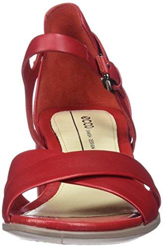 Ecco Damen Shape 35 Block Offene Sandal, Rot (1466CHILI Red), 40 EU -