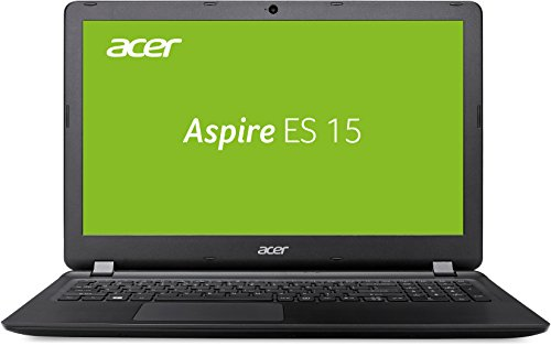 Acer Aspire ES 15 ES1-533-P98X 39,6 cm (15,6 Zoll HD matt) Noteboook (Intel Pentium N4200, 4GB RAM, 1.000GB HDD, Intel HD, Win 10) schwarz