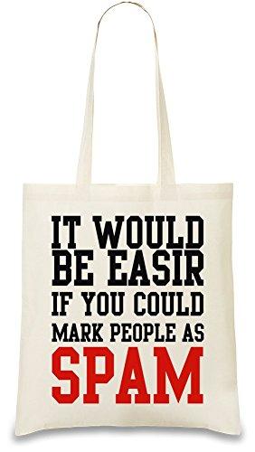 mark-couple-people-as-spam-funny-slogan-bolso-de-mano