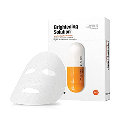 Dr.Jart+ Dermask Brightening Solution Ultra-Fine Microfiber Sheet Mask 30g/ 1.0oz X 5ea by Dr. Jart from Dr. Jart+