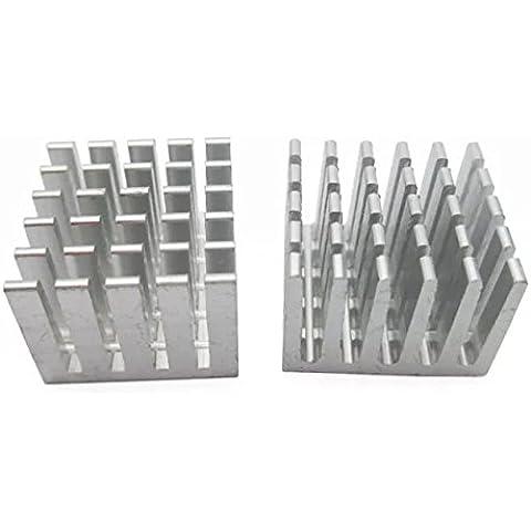 Goliton 10pcs / lot del radiatore alluminio di alta qualita di raffreddamento del dissipatore di calore del blocco d
