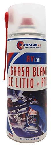 AVENCAR Grasa Blanca de Litio + PTFE lubricante Profesional