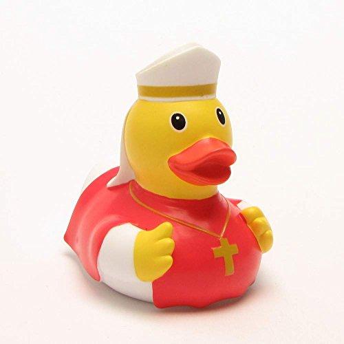 Lilalu 8x 8cm/50g Sammler und Bischof Rubber Duck Baby Badespielzeug