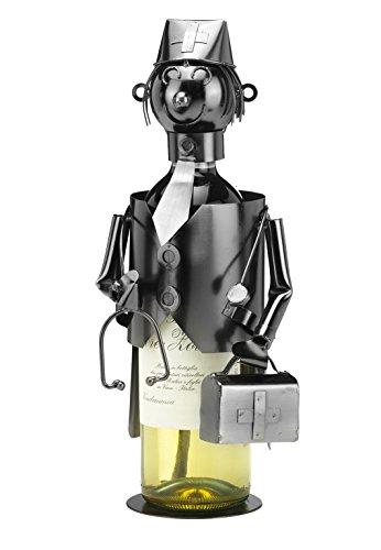 Kobolo Detailreicher Flaschenhalter Arzt aus Metall