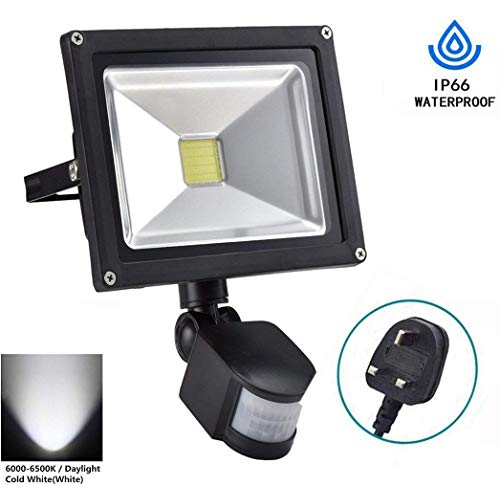 Led Lamps Ip66 Waterproof 10w Led Wall Light Adjustable Pir Motion Sensor Light 900lm 6000k Flood Light For Yard Garden 30%