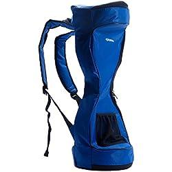Eyourlife 6.5' Bolso impermeable de la mochila de Hoverboard del material de Oxford - bolso portátil de la vespa del bolso de la vespa del bolso de la vespa de dos ruedas (blue)
