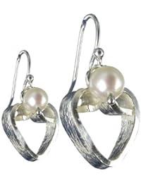 Jane Davis Damen-Ohrring Sterling-Silber 925 JDJHRT006