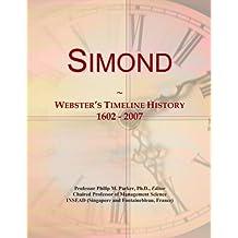Simond: Webster's Timeline History, 1602 - 2007