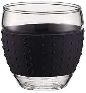 Bodum 11165-01 Pavina Set 2 Verres 0,1 L Noir