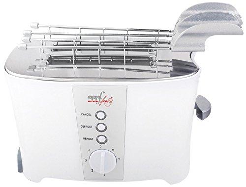 Melchioni tostapane tosto 600 watt - termostato regolabile - doppia p