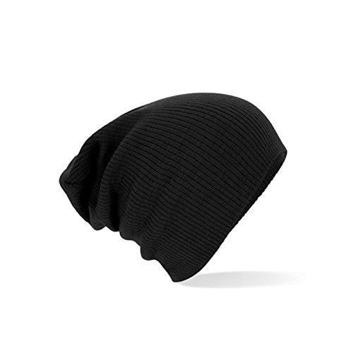 Beechfield Slouch Beanie One Size,Black