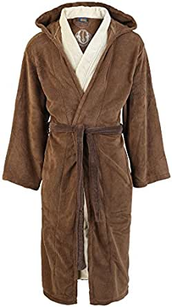 Star Wars Jedi Bademantel braun/beige