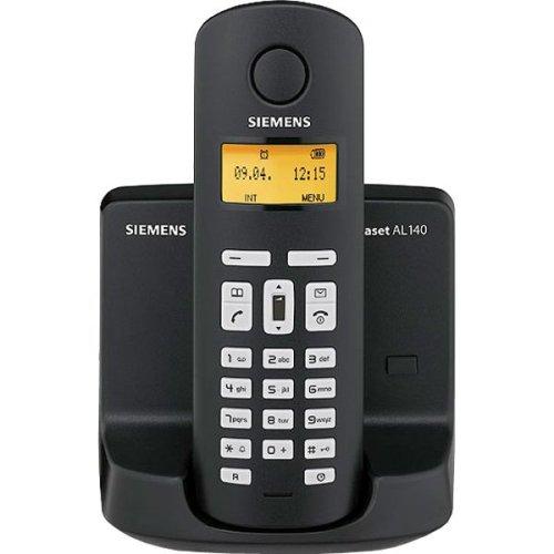 Siemens Gigaset AL140 schnurloses DECT-Telefon ECO DECT schwarz