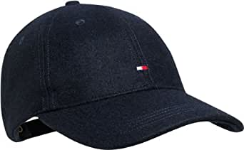 Tommy Hilfiger Herren Cap MELTON CAP / E357820472, Gr. one size, Blau (403 MIDNIGHT)