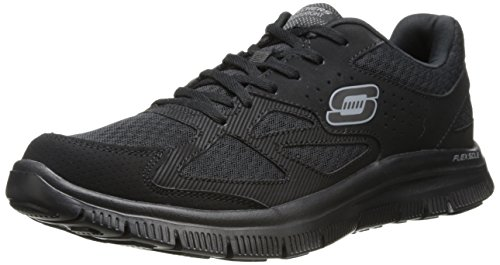 skechers-flex-advantage-master-plan-mens-trainers-black-bbk-8-uk-42-eu