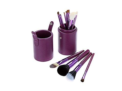 Fournitures de bain 12pcs crème liquide eyeliner fondation lèvres maquillage pinceaux Nettoyer