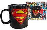 Superman Logo XXL Tasse 750ml in Geschenkbox DC Comics originelles Geschenk